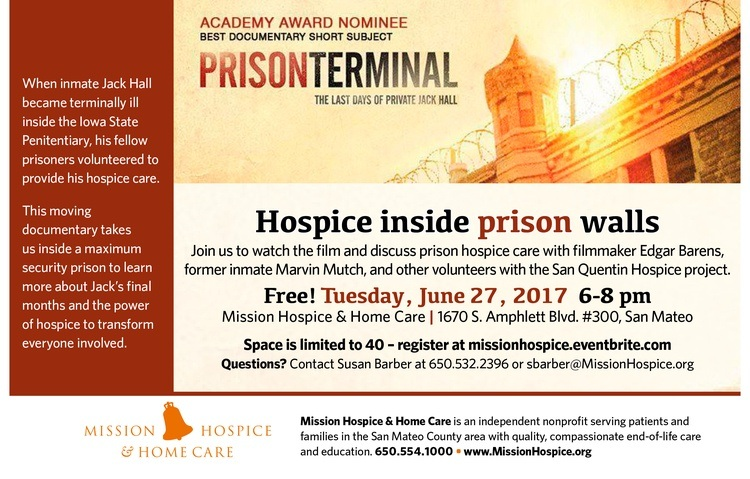 Prison Terminal: Free film screening & community discussion